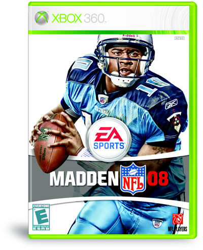 madden 2008 cover