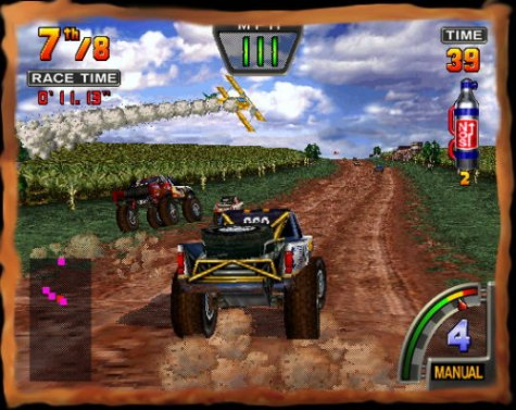 Auto Racing Shoes >> The Sports Gaming Network - Racing:Off Road Challenge (N64